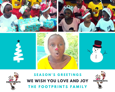 Join the Footprints Family for some Festive Favourites