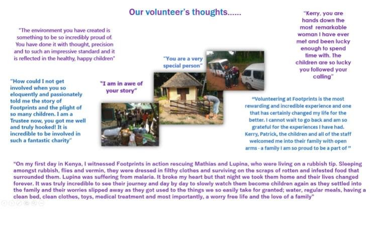 A life changing experience - What our volunteers say